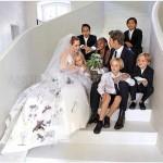 Brad Pitt si Angelina Jolie – ziua nuntii