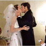 Brad Pitt and Angelina Jolie – wedding day